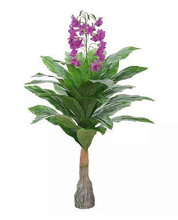 Planta Árvore Artificial Flor Beauty 1,1m