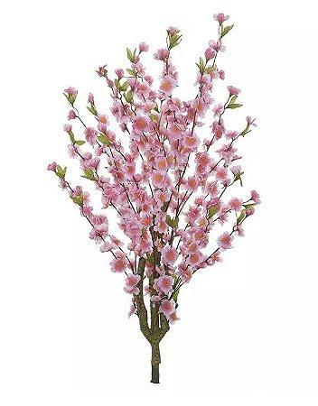 Planta Árvore Artificial Cherry Blossom Rosa 1m