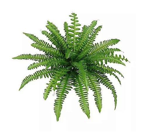 Folhagem Artificial Samambaia Verde 40cm
