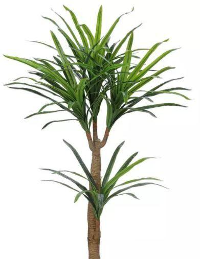 Planta Árvore Artificial Yucca Real Toque Verde 1,2m