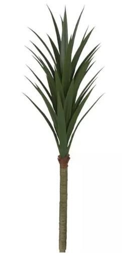 Planta Árvore Artificial Yucca Slin Verde 1,65m