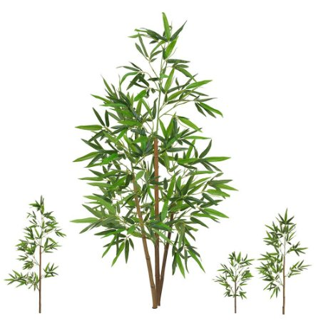 Planta Artificial Árvore Bambu Real Toque - 1,20 M