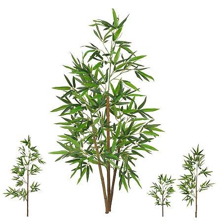 Planta Artificial Árvore Bambu Real Toque - 1,20 M