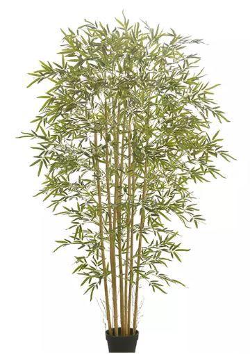 Planta Árvore Artificial Bambu Real Toque Verde 1,9m