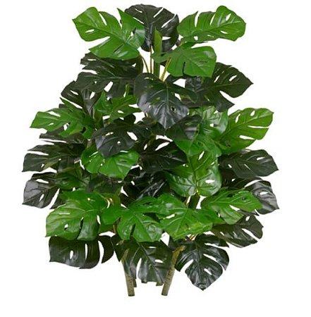 Planta Artificial Árvore Costela de Adão Real Toque X42 90cm
