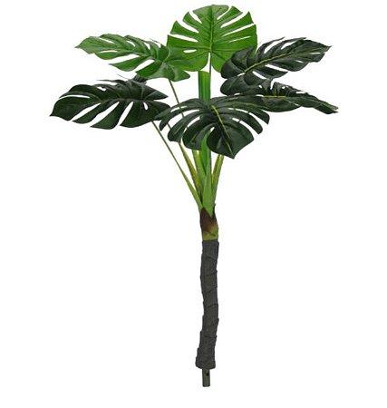 Planta Artificial Árvore Costela de Adão Real Toque X7 90cm