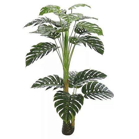 Planta Artificial Árvore Costela De Adão - 1,25m