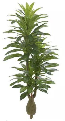 Planta Árvore Artificial Dracena Verde 1,9m
