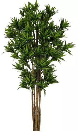 Planta Árvore Artificial Dracena Reflexa Verde Escuro 1,7m