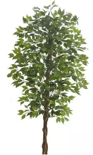 Planta Árvore Artificial Ficus Verde 2 Tons 2,1m