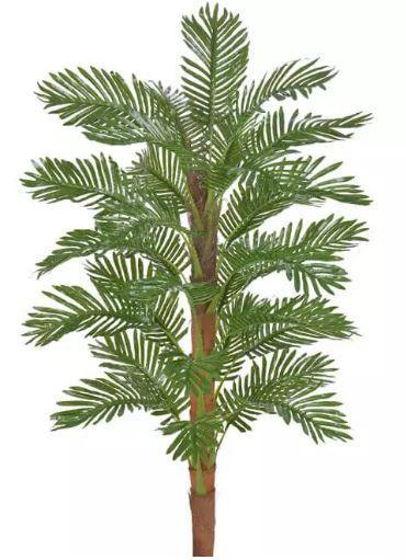 Planta Árvore Artificial Palmeira Real Toque Verde 1,5m