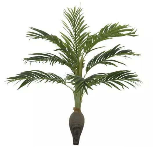 Planta Árvore Artificial Palmeira Garrafa Verde 1,2m