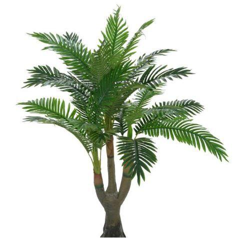Planta Artificial Árvore Palmeira Verde 1,25m