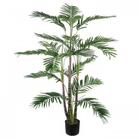 Planta Artificial Árvore Palmeira Areca 1,20m