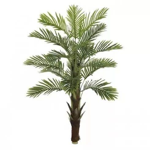 Planta Artificial Árvore Palmeira Real Toque - 1,3m
