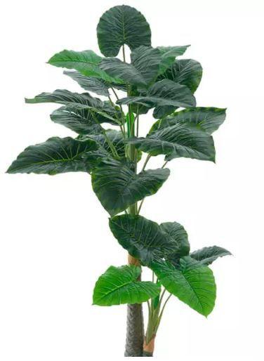 Planta Árvore Artificial Philodendron Real Toque Verde 1,25m