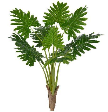 Planta Artificial Árvore Philodendron Real Toque Verde 1,17m