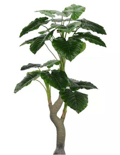 Planta Folhagem Artificial Folha Philo Real Toque Verde 1,64m
