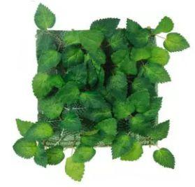 Folhagem Artificial Placa Folha Verde Médio 25x25cm