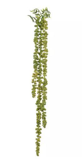 Folhagem Artificial Sedum Pendente Verde 74cm