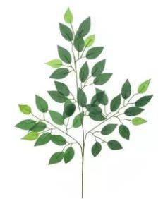 Folhagem Artificial Ficus Verde em 2 Tons 63cm