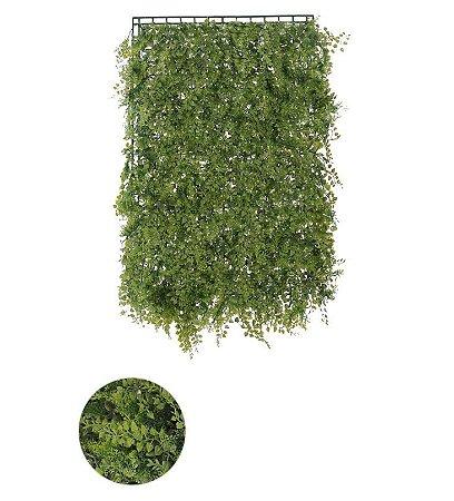 Folhagem Grama Artificial Placa Verde 40x60cm mod2