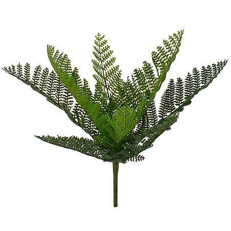 Folhagem Artificial Samambaia Verde 25cm