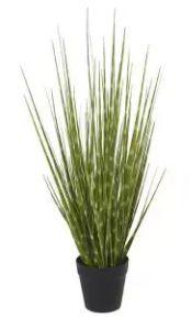Arranjo Grass Artificial Verde em 2 Tons com Pote 53cm