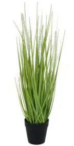 Arranjo Grass Artificial Verde Creme 53cm