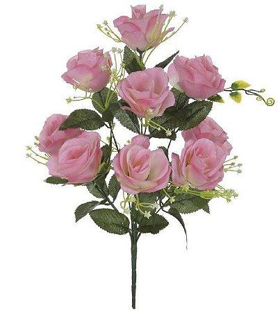 Buquê Rosa X10 (ROSA) 46cm