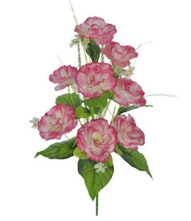 Buquê Rosa Arranjo X8 (ROSA) 52cm