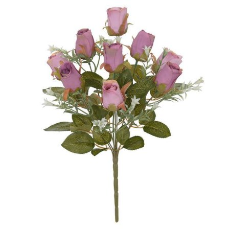 Buques Rosa Botão Rosa Beauty 37cm