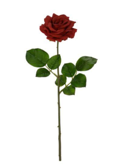 Haste de Rosa Vermelho 55cm