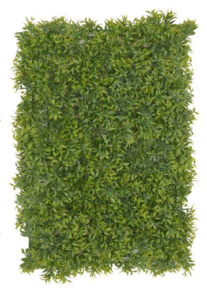 Folhagem Artificial Placa Grama Verde 40X60cm mod10