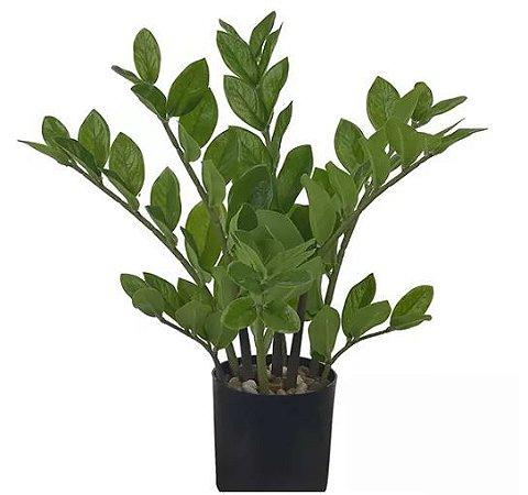 Planta Árvore Artificial Zamioculca Real Toque - 40cm