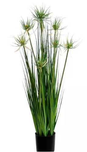 Planta Árvore Artificial Grass Verde em 2 Tons com Vaso 90cm