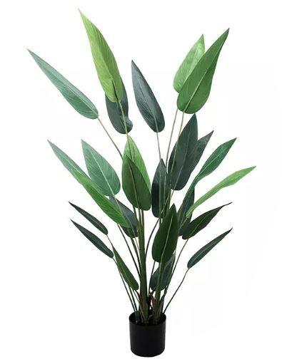 Planta Árvore Artificial Estrelícia Verde 1,75m