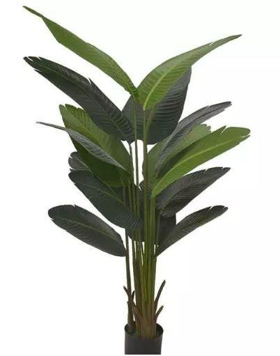 Planta Árvore Artificial Bananeira de Jardim Verde 1,7m