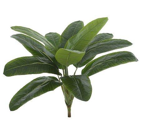 Planta Artificial Árvore Bananeira Real Toque X12 75cm