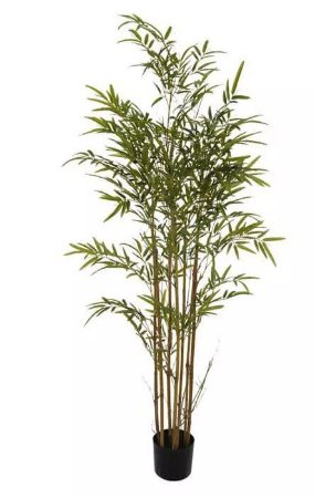 Árvore Artificial Bambu Verde 1,5m