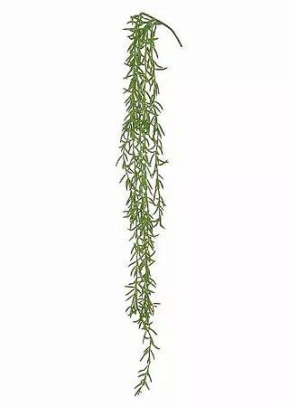 Folhagem Artificial Grass Pendente Com Print Verde 83cm