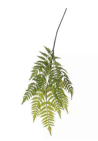 Folhagem Artificial Samambaia Pendente Verde 1,1m