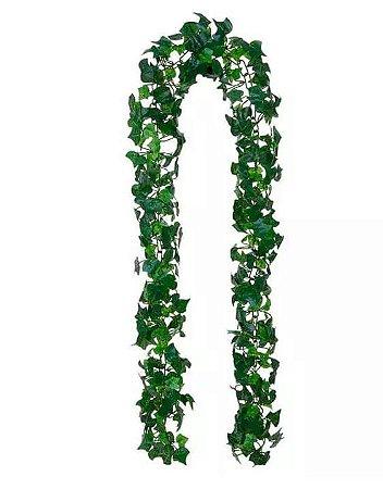 Folhagem Artificial Hera Pendente Verde 1,7m