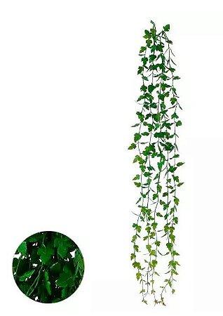 Folhagem Artificial Salsa Pendente Verde 98cm