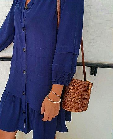Vestido Antônia Azul Marinho