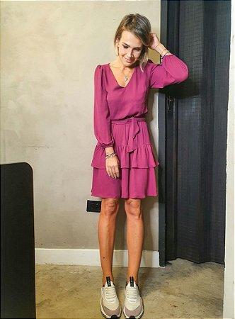 Vestido Nina Fucsia