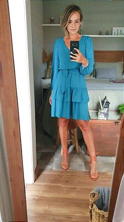 Vestido Nina Azul Francia