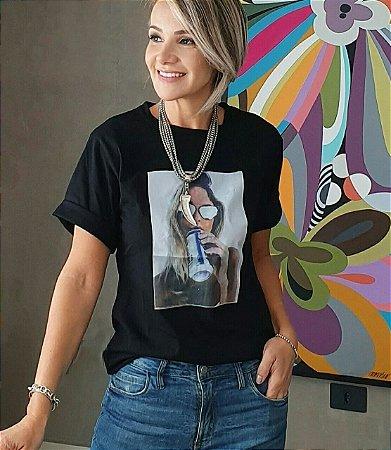 Tshirt  Paula Preta