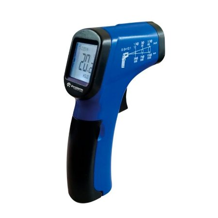 Termômetro Infravermelho Com Mira Laser -50°+420° Incoterm ST-400