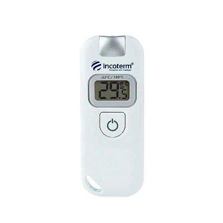 Termômetro Infravermelho -33°+199° para uso geral Incoterm 7671